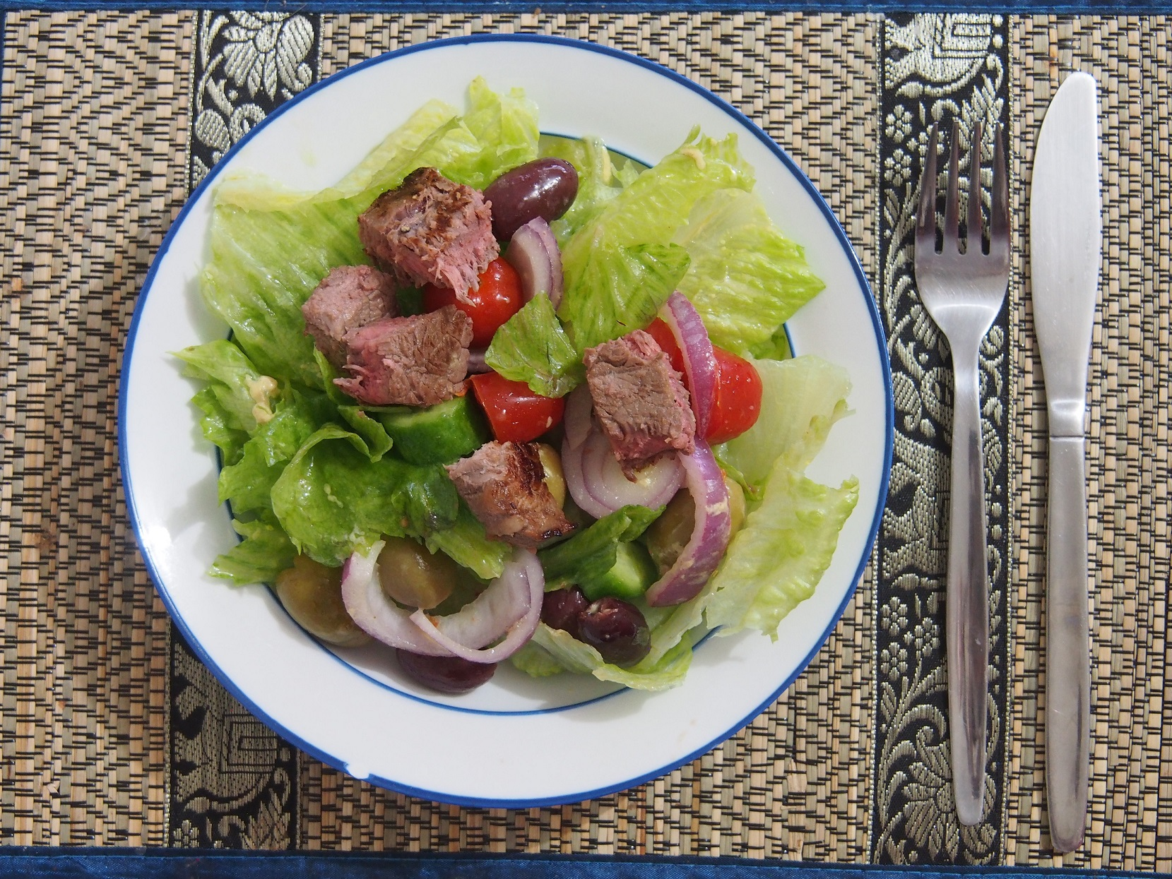 Quick Steak Salad